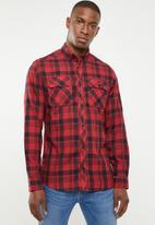 Jack & Jones - Tour worker shirt - red