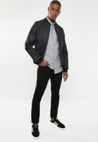 STYLE REPUBLIC - Button-up long sleeve shirt - grey