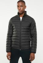 Jack & Jones - Chicago puffer jacket - black