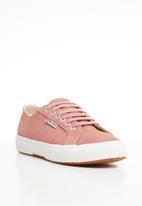 SUPERGA - 2750 Full suede classic - pink peach