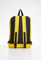 Jack & Jones - Blocking backpack - yellow & black