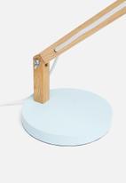 Sixth Floor - Bessie table lamp - blue