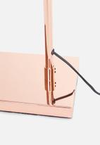 Sixth Floor - Waldo floor lamp - copper