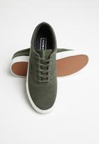 Jack & Jones - Vision suede -  olive nights