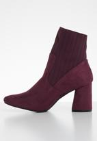 Superbalist - Piper ankle boot - burgundy
