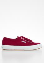 SUPERGA - 2750 Cotu classic canvas - 104 red dark scarlet