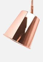 Sixth Floor - Waldo table lamp - copper