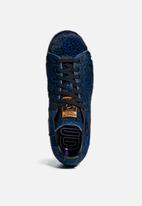 adidas Originals - Stan Smith W - Core black / Core black / Collegiate purple