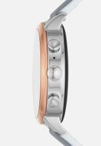 Fossil - Gen 4 smartwatch - venture HR gray silicone
