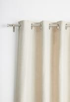 Sixth Floor - Eyelet curtain 2 pack - natural
