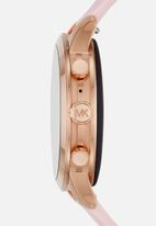 Michael Kors - Runway leather - rose gold