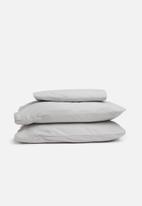 Linen House - Flannelette sheet set - grey