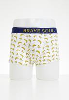 Brave Soul - 3 pack banana boxers - multi