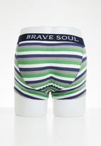 Brave Soul - 3 pack tropic boxers - multi