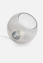 Sixth Floor - Smoke globe pendant