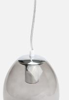 Sixth Floor - Oval pendant lamp - smoke