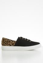Superbalist - Ulfah sneaker - black/leopard