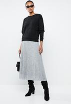 MANGO - Embellished sweatshirt - black
