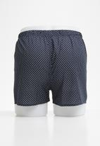 STYLE REPUBLIC - Printed boxers shorts - navy