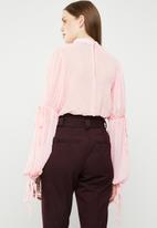 STYLE REPUBLIC - Volume sleeve blouse - pink