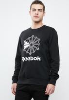 Reebok Classic - Ac ft big starcrest crew - black