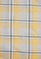 Superbalist - Check blouson sleeve shirt - multi