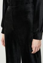 Superbalist - Velour culottes - black