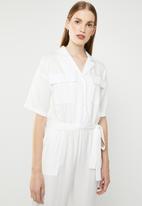 Superbalist - Utility style jumpsuit - white