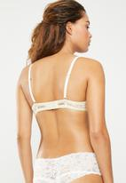Superbalist - Lace T-shirt bra - cream