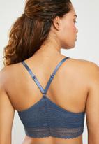 Superbalist - Longline bra - blue