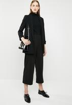 MANGO - Shawl collar blazer - black
