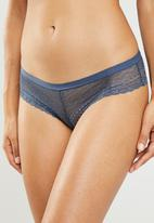 Superbalist - Cheeky bottom panty - blue