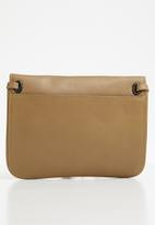 G-Star RAW - Khoma small shoulderbag leather wmn - brown