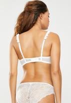 DORINA - Trisha balcony bra - white