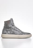 PUMA - Puma breaker mid reptile - charcoal grey - silver grey