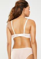 DORINA - Fluer push up bra - pink & cream