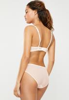 DORINA - Fluer brief - pink & cream