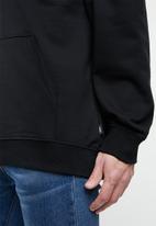 Vans - Vans retro tall type hoodie - black