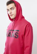 Vans - Vans classic hoodie - pink & black