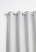 Sixth Floor - Eyelet curtain extra length - grey