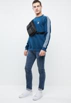 adidas Originals - 3-Stripes crew LS sweater - blue