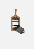 Typo - Luggage tag - tan