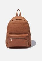 Typo - Commuter backpack - tan