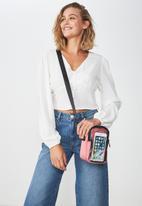Typo - Crossbody bag - pink