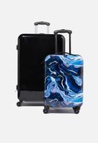 Typo - Suitcase set with tsa lock - multi