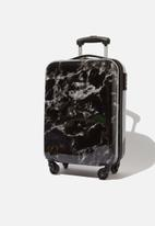 Typo - Tsa small suitcase - black & white