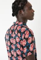 Brave Soul - Varmus short sleeve shirt - navy
