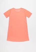 Rebel Republic - Teens unicorn sleep shirt - orange