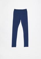 Rebel Republic - Plain legging - navy