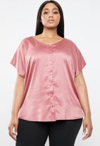 STYLE REPUBLIC PLUS - Kimono style shirt - pink